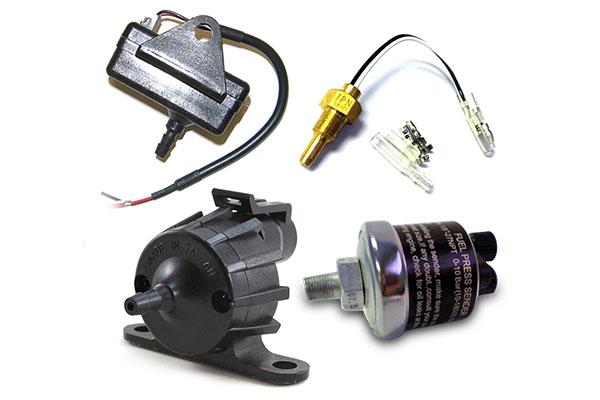 prosport digital gauges components