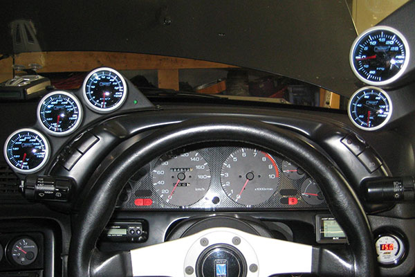 prosport performance gauges installed