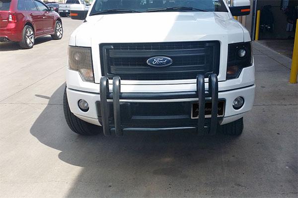 6376 go industries quad guard push bumper f150 ecoboost