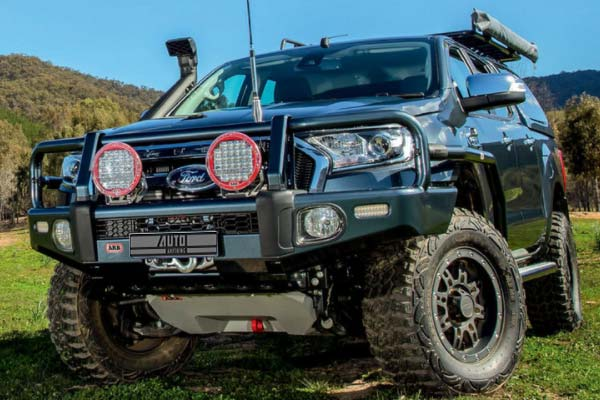 bull bar on ford ranger