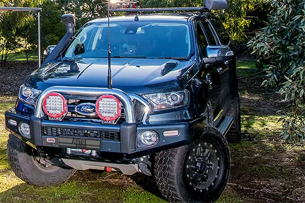 ford ranger with arb bumper