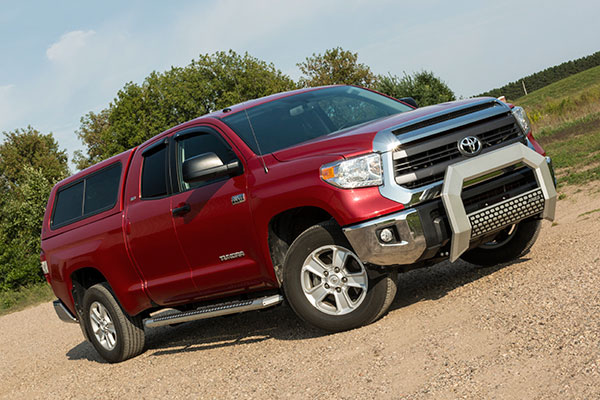 aries 5 5 advantedge bull bar toyota tundra