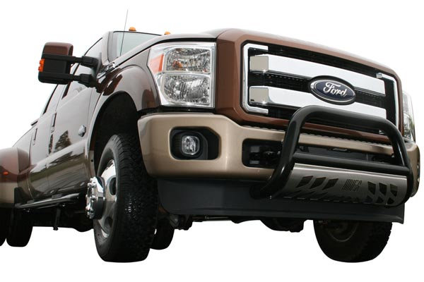 aries bighorn bullbar polished