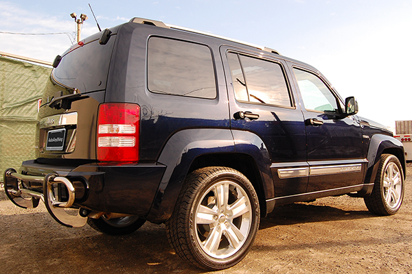 broadfeet rear bumper guard jeep liberty lifestyle