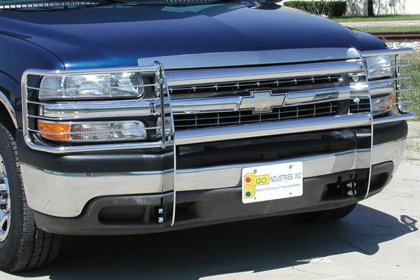 go industires knockdown grille guard related chrome