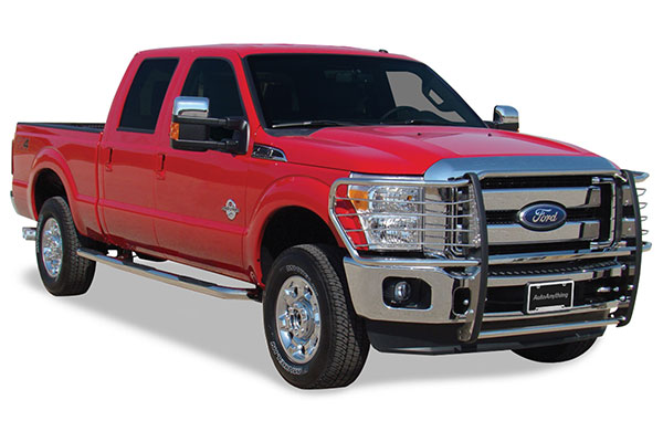 go industries grille shield grille guards f250 installed