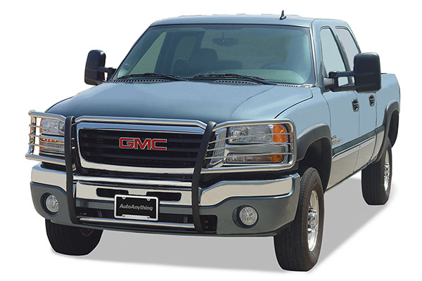go industries grille shield grille guards gmc installed