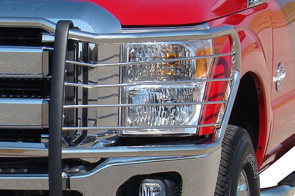go industries grille shield grille guards ford 250 detail
