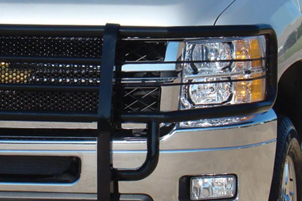 go industries rancher grille guard closeup black