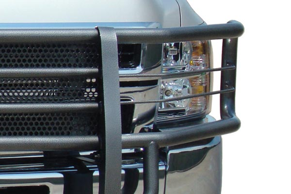 go industries rancher grille guard closeup hammerhead