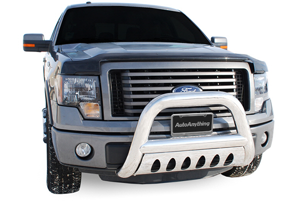 luverne 4 inch oval bull bar f150 installed
