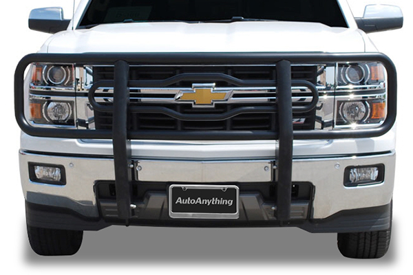 luverne tubular grille guard silverado installed