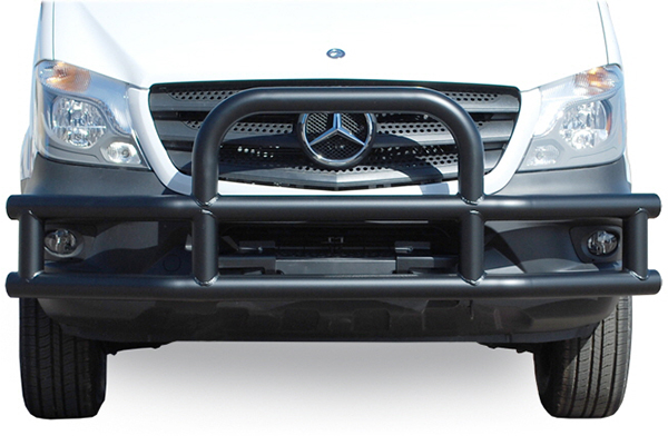 luverne tuff guard grille guard sprinter installed