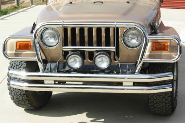 rampage jeep euro grille guards stainless