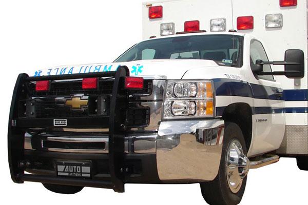ranch hand push bars ambulance