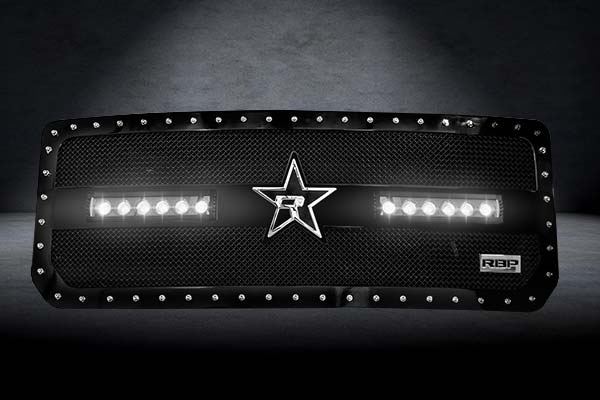 rbp rx 3 led grilles lights