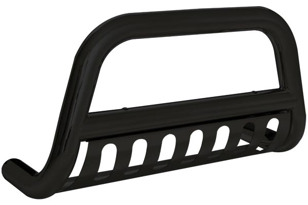 smittybilt grille saver bull bar black