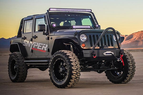 snyper scope front bumper installed lifestyle