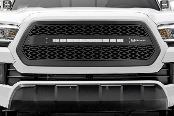 t rex zroadz series led light grille detail