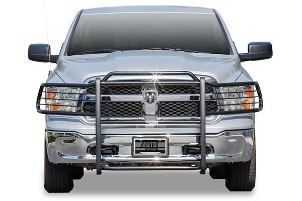 westin-sportsman-grille-guard-ram-installed