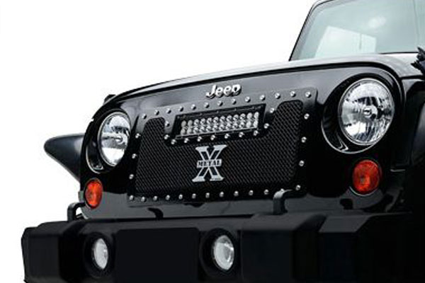 T Rex Torch LED Grilles Jeep