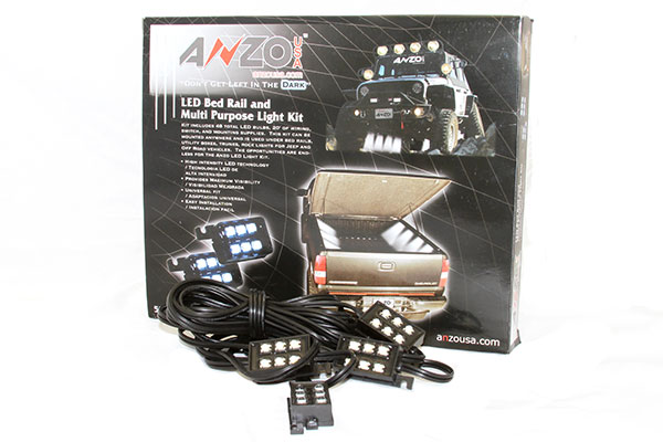 anzo led bed rail lights kit