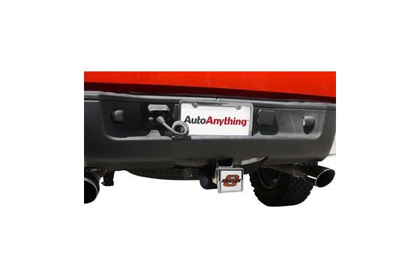 college logo hitch cover