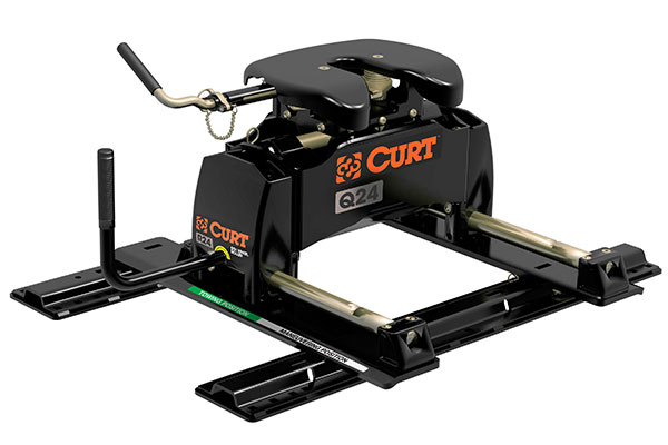 curt q5 5th wheel hitches with roller