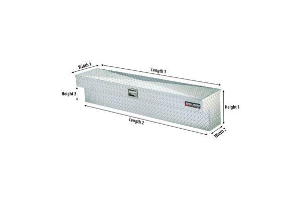 deflecta shield challenger side mount storage box diagram