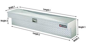 delfecta shield seal tite side mount toolbox diagram