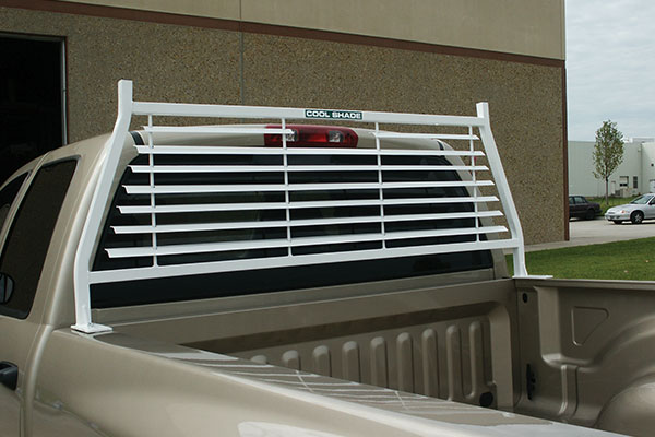 go industries painted rack white