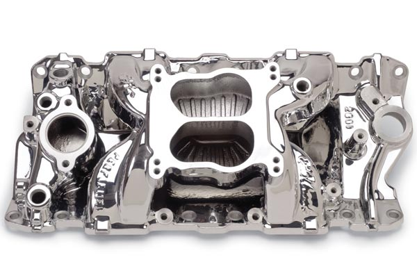 edelbrock performer air gap intake manifolds 2