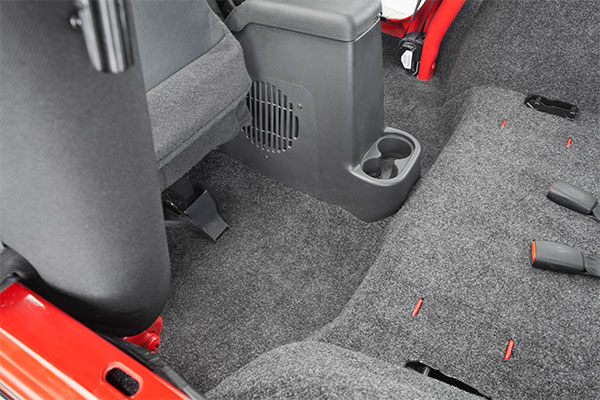 BedRug Jeep Floor Liner Rear