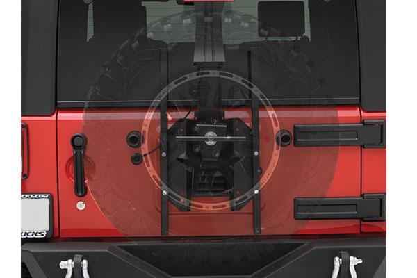 Smittybilt Jeep SRC Oversize Tire Carrier2