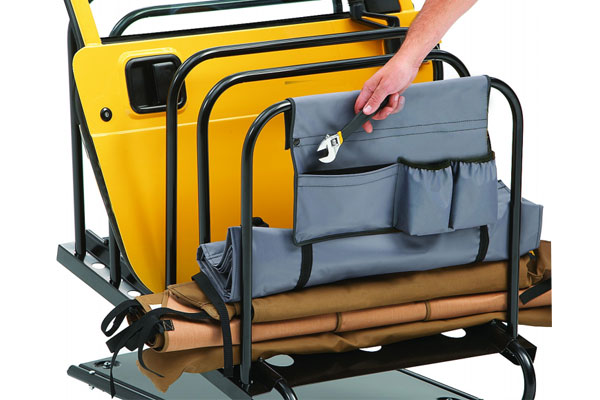 bestop hoss jeep hardtop storage system 2
