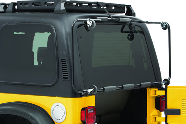 bestop hoss jeep hardtop storage system 5