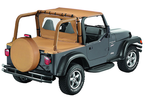 bestop windjammer air flow deflector TJ