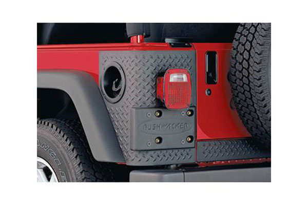 bushwacker trail armor front and rear corners rear 14004