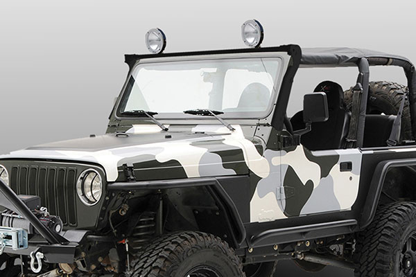 carr jeep xrs rota light bar TJ