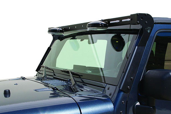 carr jeep xrs rota light bar down