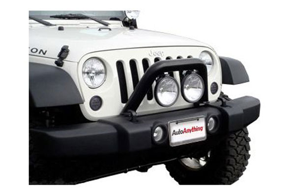 mbrp jeep front light bar grille system2