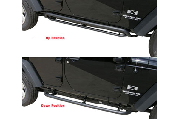 rampage retractable rockslider steps related 1