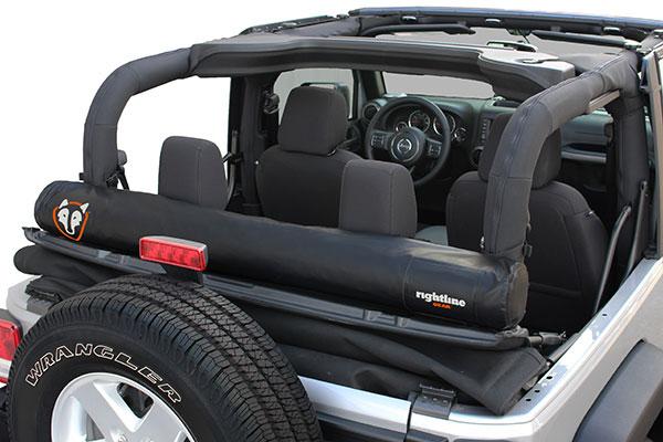rightline gear window storage bag installed