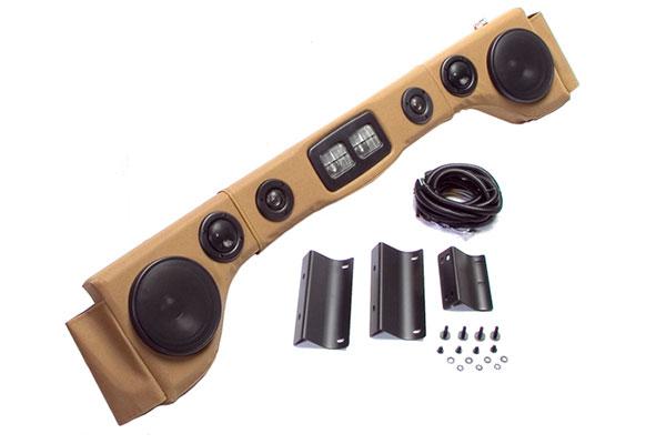 rugged ridge jeep sound bar full kit