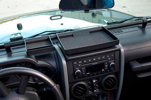 rugged ridge jeep storage kits dash organizer