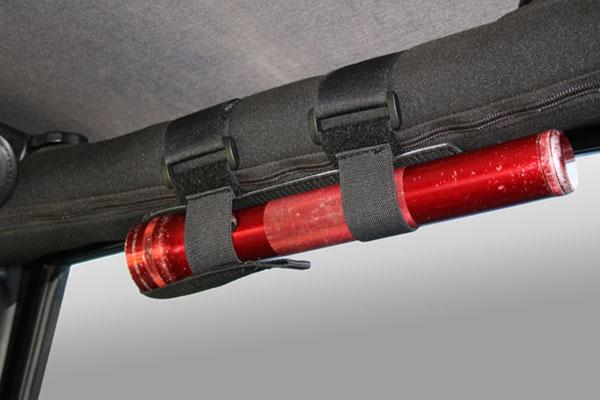 rugged ridge jeep storage kits flashlight holder