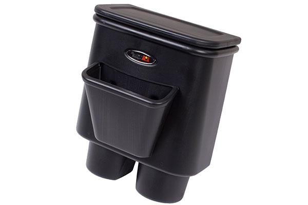 rugged ridge jeep storage kits rear seat storage bin