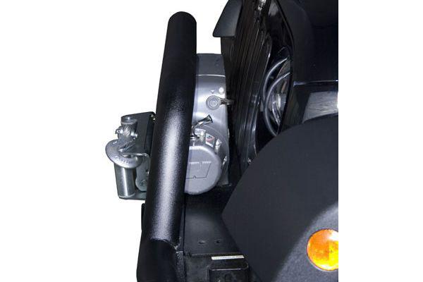 rugged ridge stubby tube bumper inset design hugs jeep