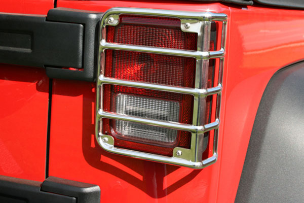 rugged ridge tail Light polished stainless