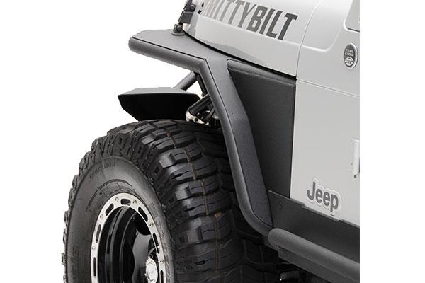 smittybilt XRC front tube fender rearview
